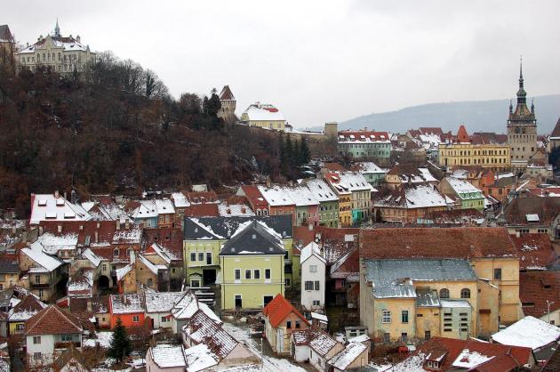 Dec 30, 2011 - Sighisoara, Romania